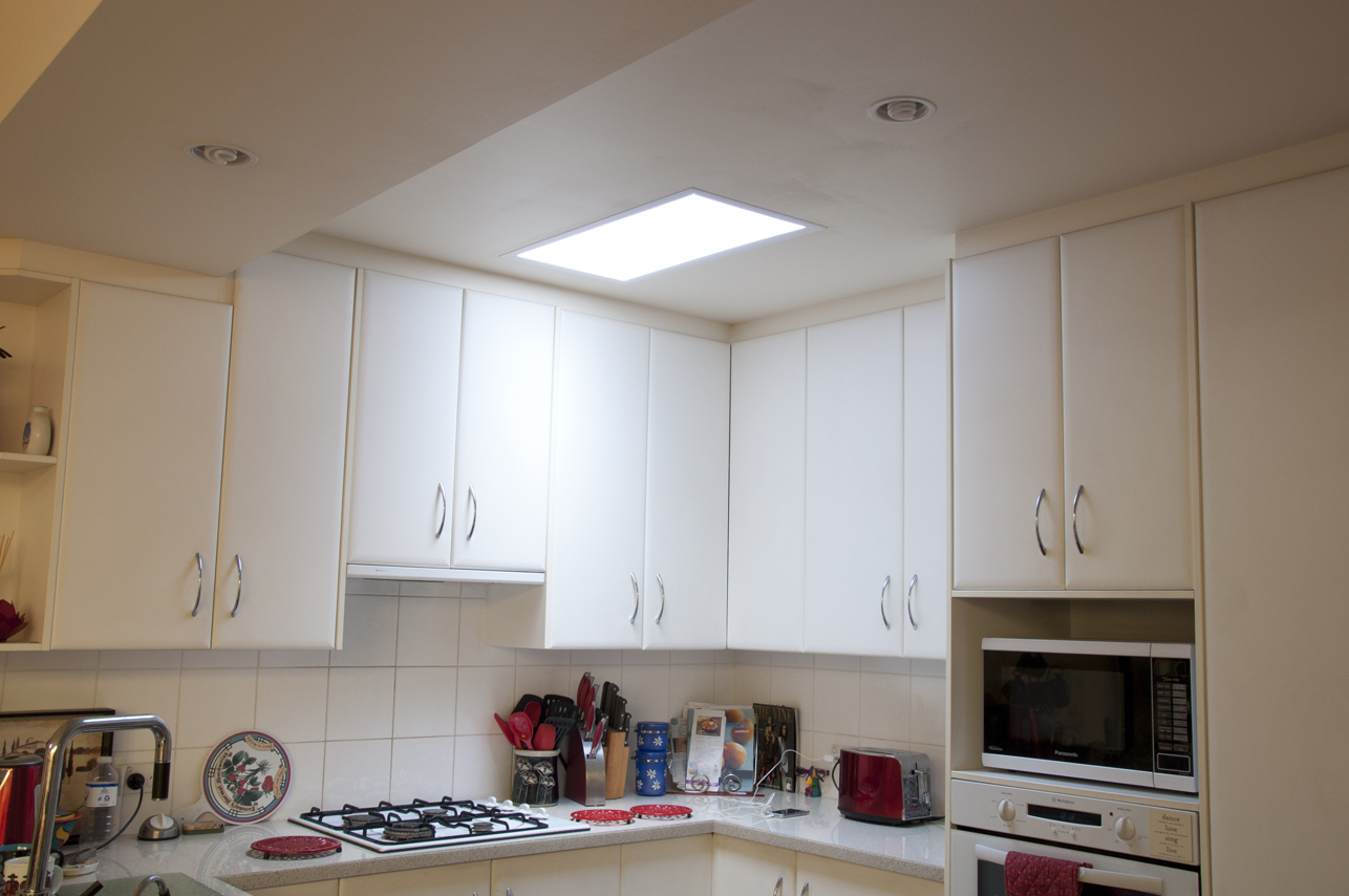 Large range of square rectangular sizes vented or non for Large skylights